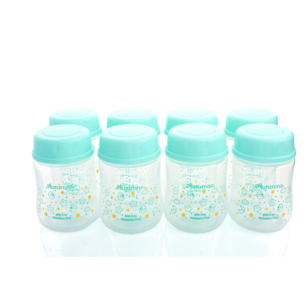 Autumnz Wide Neck Breastmilk Storage Bottles *5oz Moonstar (8 Bottles) - Baby Care Malaysia