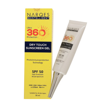 Dry Touch Sunscreen Gel (Ultra 360 Protection) 30ml