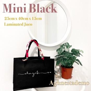 Personalised mini black