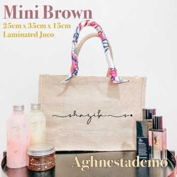 Personalised Mini Brown