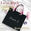 Personalised Large Black - Personal.my