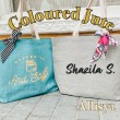 Personalised Coloured Jute - Personal.my