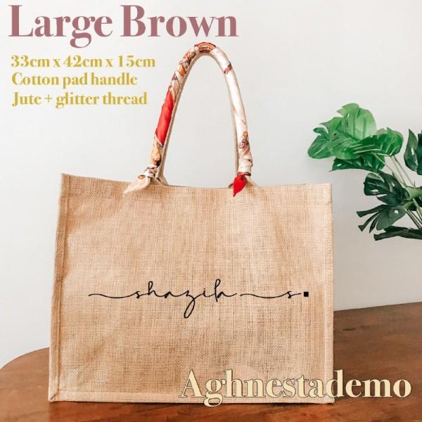 Personalised Large Brown - Personal.my