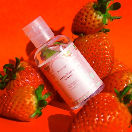 Body Retreat Strawberry Sunset Hand Sanitizer