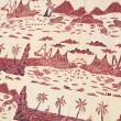 PD-07 ALAM BERCERITA (BATIK KATUN TULIS) - Bunga Nusantara