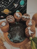 Space Wooden Stampers - Petit World