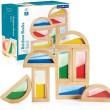 Guidecraft Rainbow Sand Blocks - Petit World