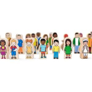 My Family Wooden People (30pcs) *Preorder eta 3 weeks* - Petit World