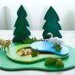 Wooden Puzzle Base Plate - Petit World