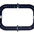 16 Piece Road Tracks - Petit World
