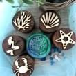 Little Mermaid Wooden Stampers - Petit World