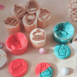 Cakes & Icecream Wooden Stampers - Petit World