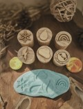 Weather Wooden Stampers - Petit World