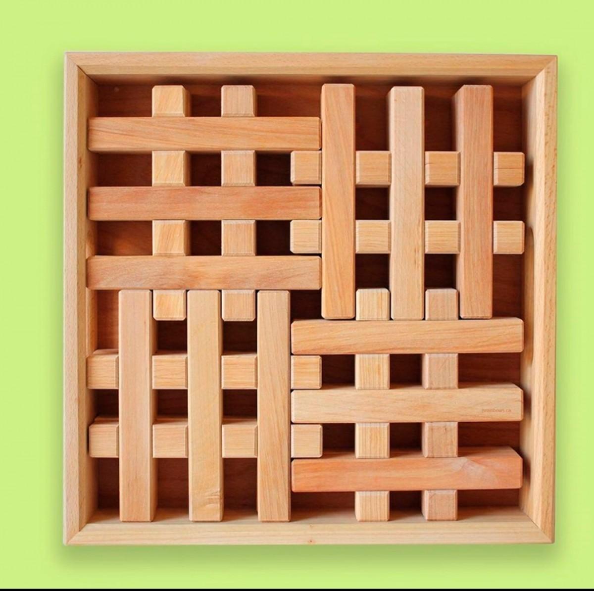 Grid Blocks (8 pcs) *Eta 4 weeks * - Petit World