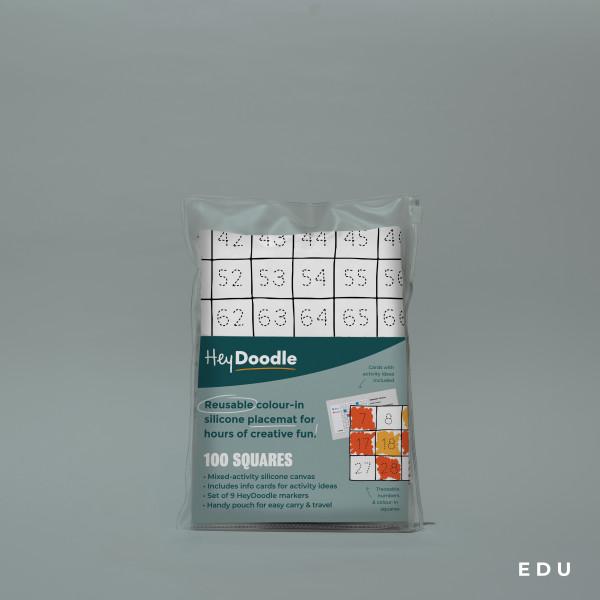 HeyDoodle - 100 Squares - Petit World