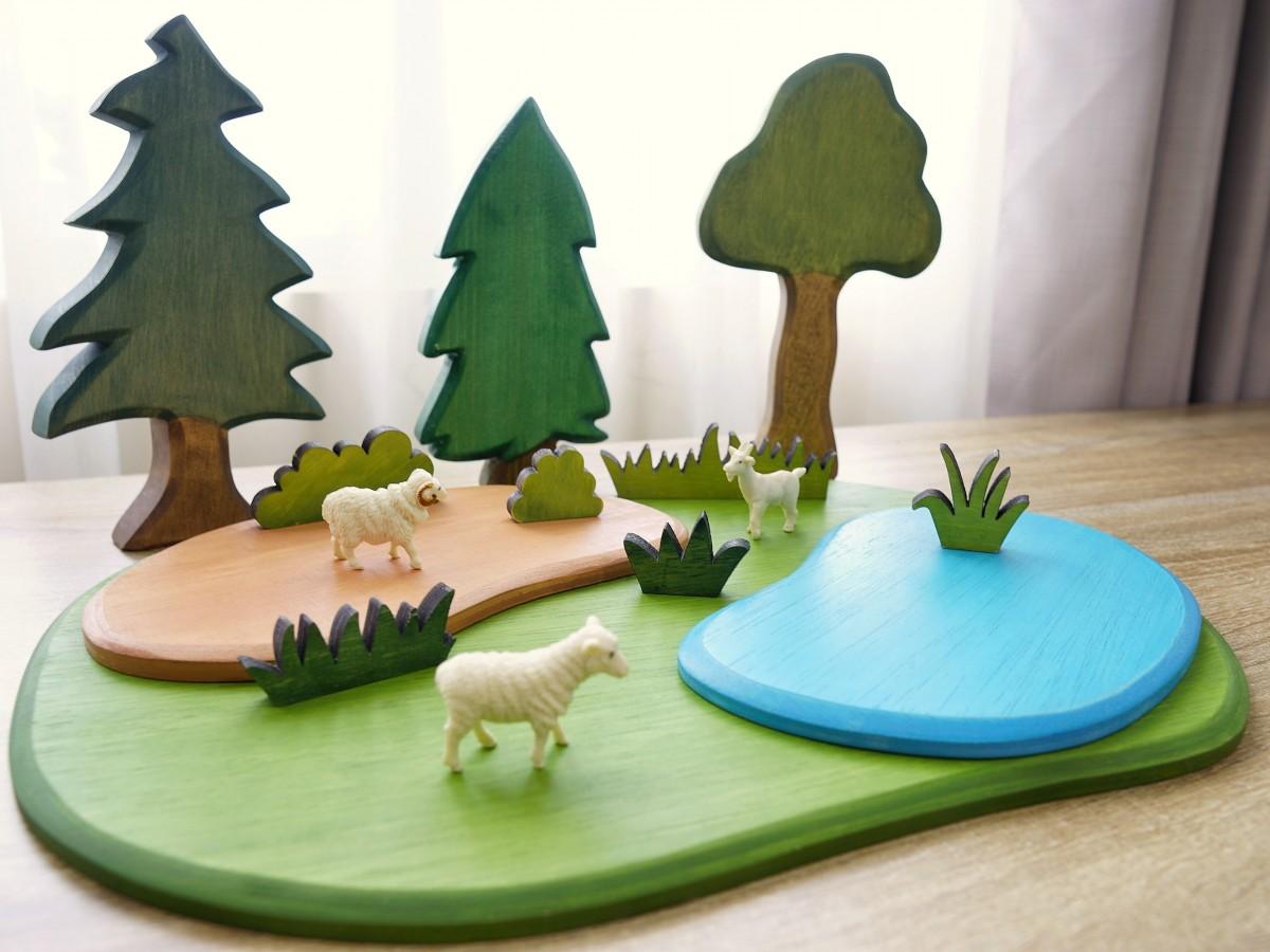 Wooden Playboard- Medium - Petit World